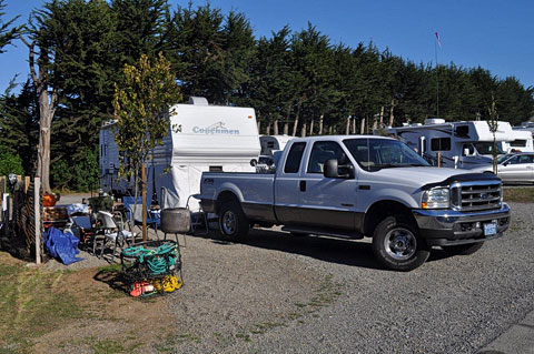 Bodega Bay RV Park site